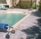 espace terrasse/piscine des propriétaires